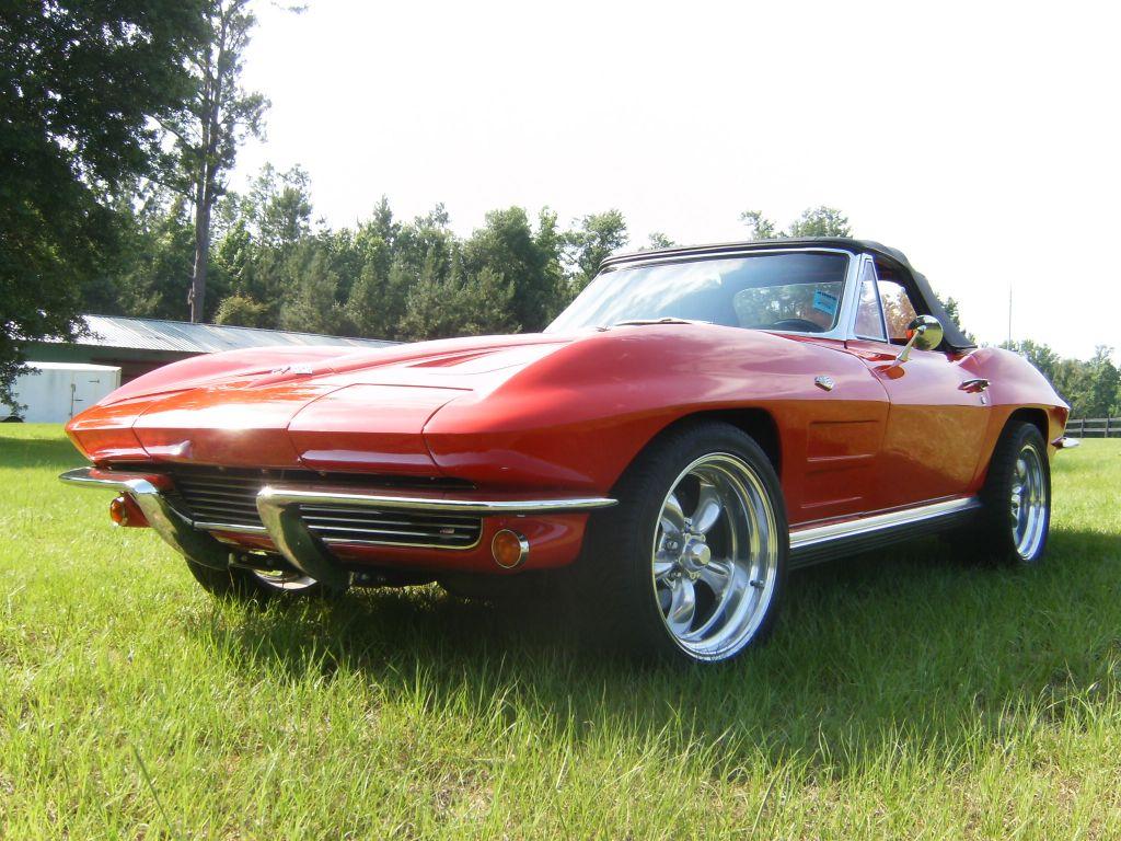 1964 corvette red resto mod corvettes for sale autos post for 1964 corvette split window for sale